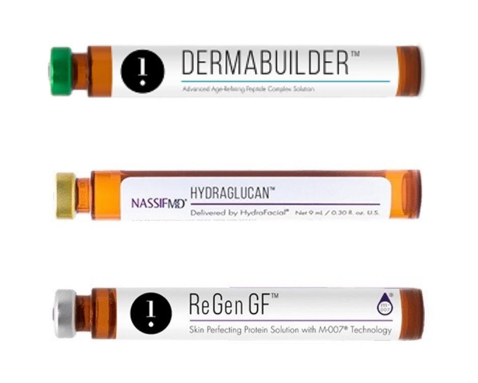Primjeri boostera koje koristimo za vrijeme HydraFacial tretmana