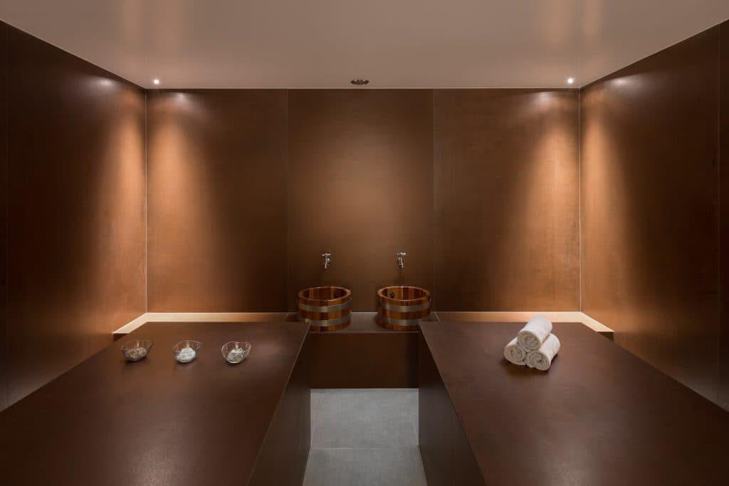 Hammam room for treatment