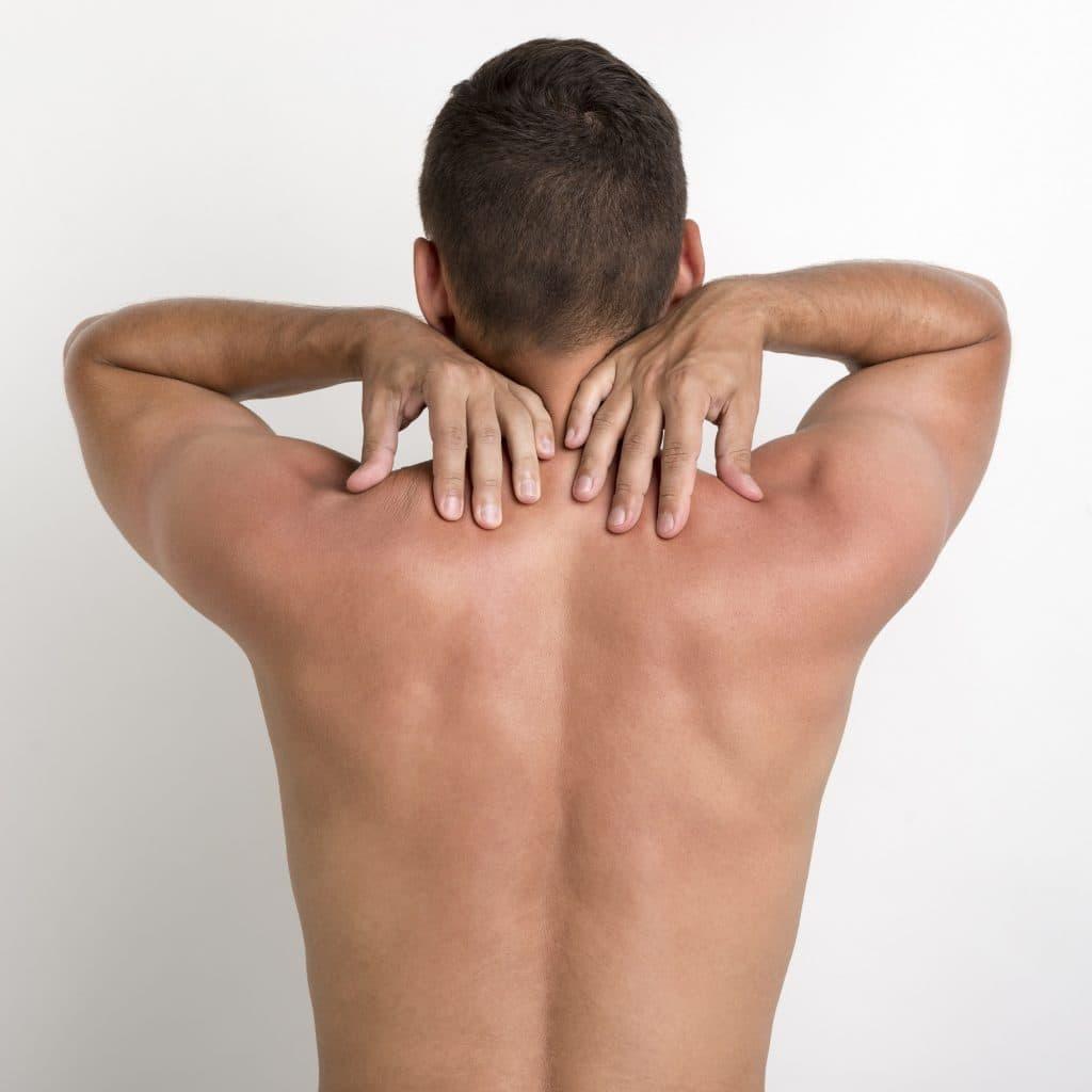Ultimate men's face, back, neck & shoulders treatment