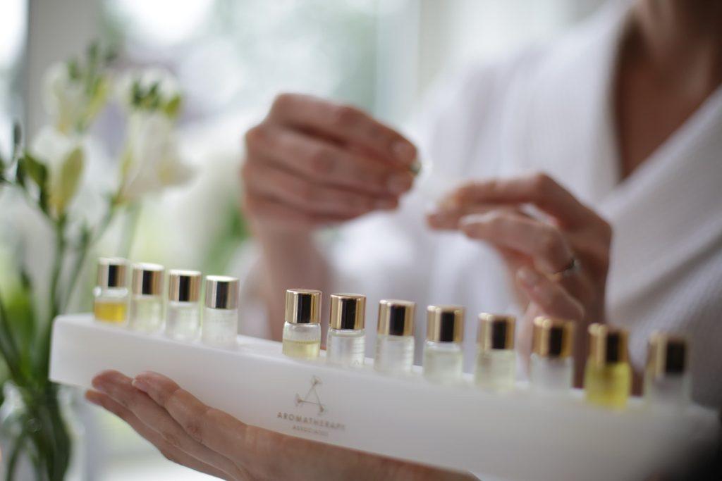 Smell test by Aromatherapy Associates